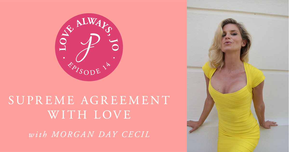 014 Supreme Agreement With Love An Interview With Morgan Day Cecil